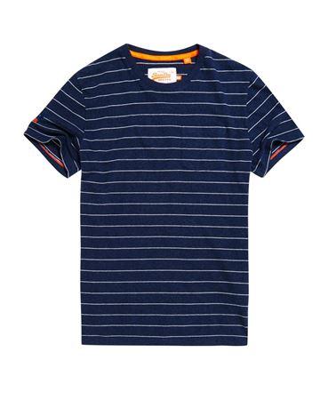 Superdry - Dartmouth stripe pocket tee