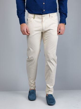 Hansen&Jacob - 5-pkt Cut'n Sew Pale Trousers