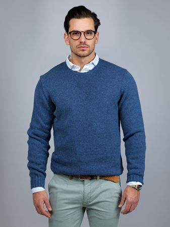 Hansen&Jacob - Round Neck Melange Knit Jumper
