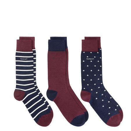 Gant - O 3-pack socks