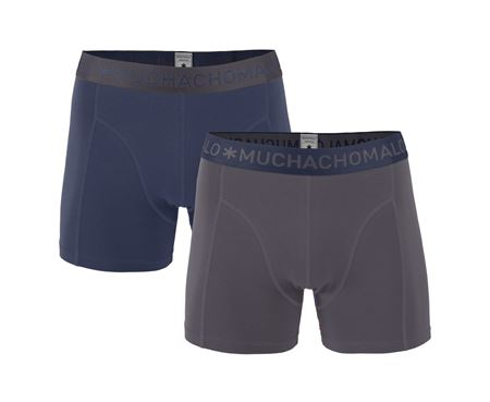 Muchachomalo - MEN 2 - PACK SHORT SOLID/SOLID - Grey