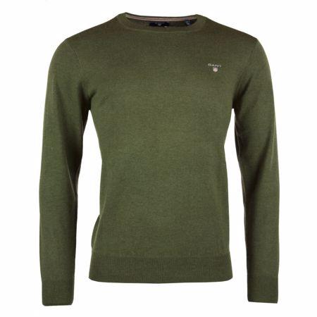 Gant - Cotton wool crew neck sweater