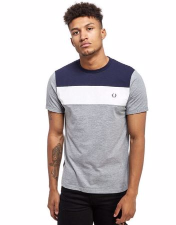 Fred Perry - Block panel tee