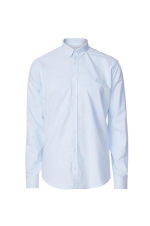 LES DEUX-WINDSOR SHIRT-LIGHT-BLUE/WHITE