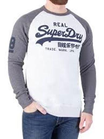 Superdry - Vintage logo raglan sweat