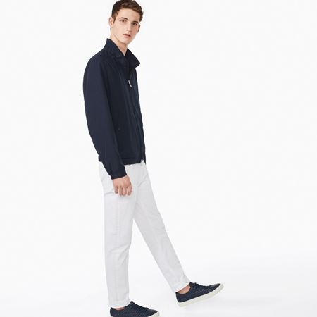 Picture of GANT-THE HAMPSHIRE JACKET-EVENING-BLUE