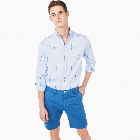 GANT-SUMMER SHORTS-HURRICANE-BLUE