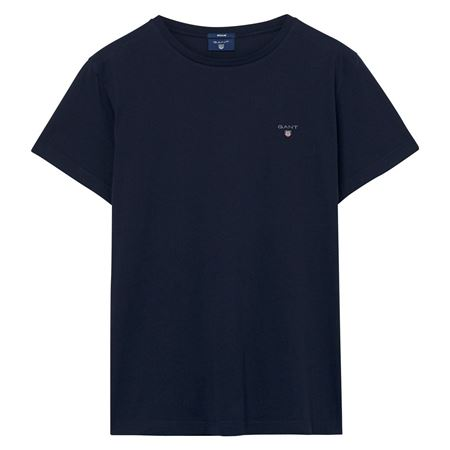 GANT-THE ORIGINAL T-SHIRT-EVENING-BLUE