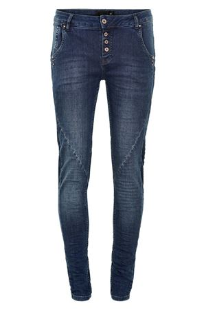DRANELLA-VOFFEE FASHION FIT JEANS-ANCHOR BLUE