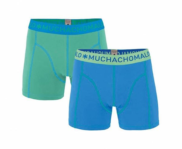 MUCHACHOMALO-MEN 2-PACK SHORT SOLID/SOLID