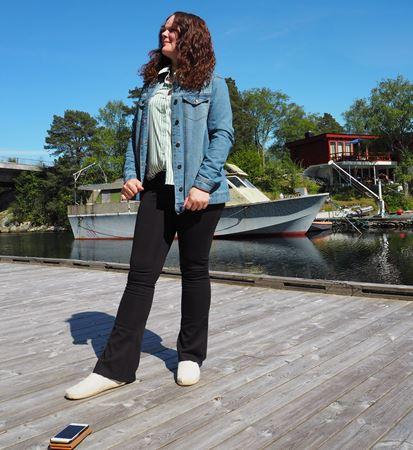 Jeans jakke oversized