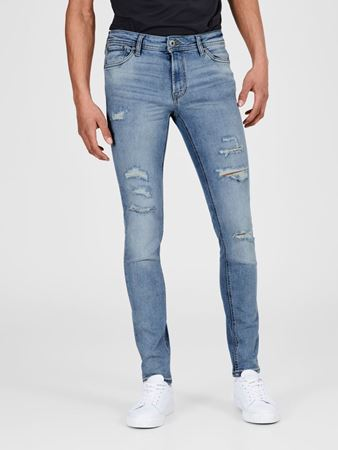 LIAM SKINNY FIT JEANS 717 RIPPED