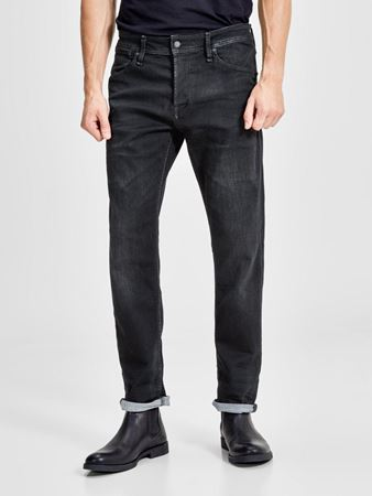 JACK&JONES-MIKE DASH GE 784 COMFORT FIT JEANS-BLACK-DENIM