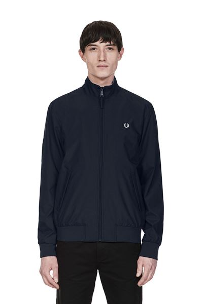 FRED PERRY-BRENTHAM JACKET-NAVY