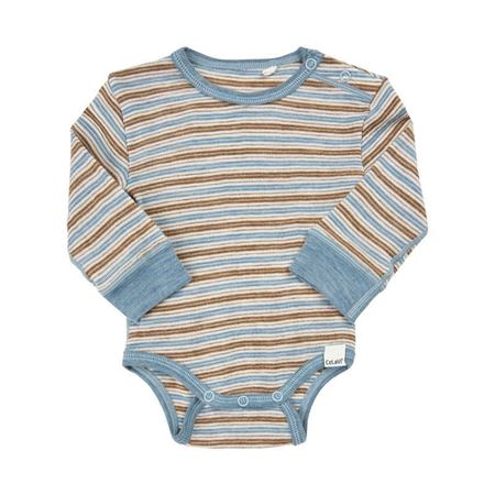 CELAVI-BODY LS WONDER WOLLIES-BLUE-SHADOW