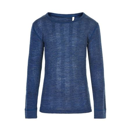 CELAVI-BLOUSE LS WONDER WOLLIES-ENSIGN-BLUE