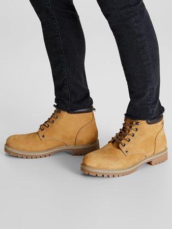 STOKE NUBUCK BOOTS - HONEY