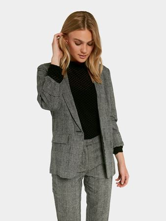 FOLLIE RUTETE BLAZER - DARK GREY