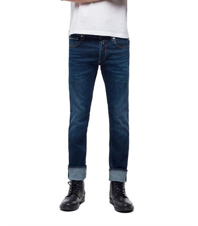 REPLAY-STRAIGHT FIT GROVER JEANS-MEDIUMDARK