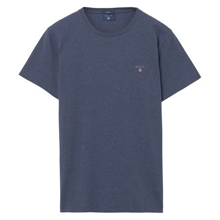 GANT-PREPPY ESSENTIALS THE ORIGINAL T-SHIRT-DARK-JEANSBLUE-MELANGE