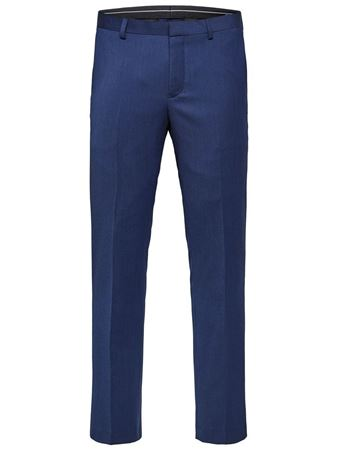 SELECTED HOMME-SLIM FIT - DRESSBUKSER-BLUE-DEPTHS