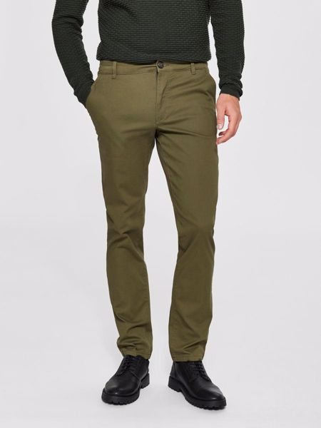 SELECTED HOMME-CLASSIC - TROUSERS-OLIVE-NIGHT