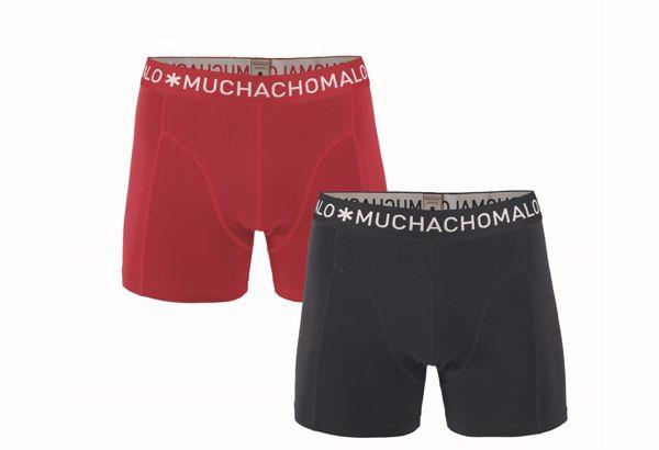 MUCHACHOMALO- BOXER -(DARK)-BLUE/RED