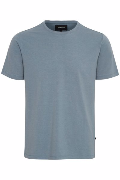 MATINIQUE-JERMALINK T-SHIRT-DOVE-BLUE