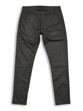 GABBA-JONES CHINO GREY CHECK-GREY-CHECK