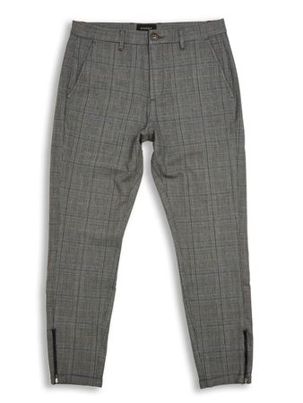 GABBA-PISA CHINO ENGLISH-GREY-CHECK