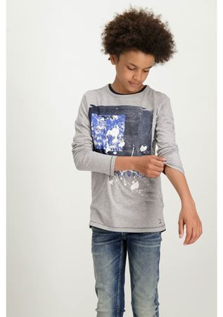 GARCIA-T83603_BOYS T-SHIRT LS-GREY MELEE