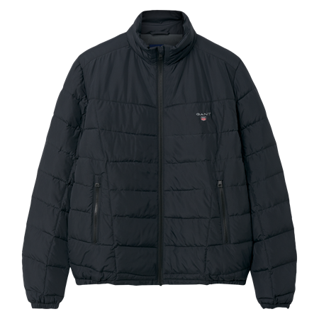 GANT-O1. THE CLOUD JACKET-BLACK