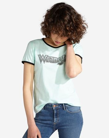 WRANGLER-RINGER TEE-BEACH-GLASS