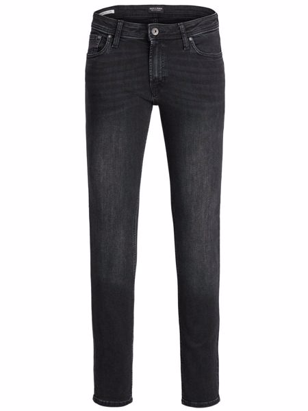 JACK&JONES-LIAM ORIGINAL AM 746 NOOS SKINNY FIT JEANS-BLACK-DENIM