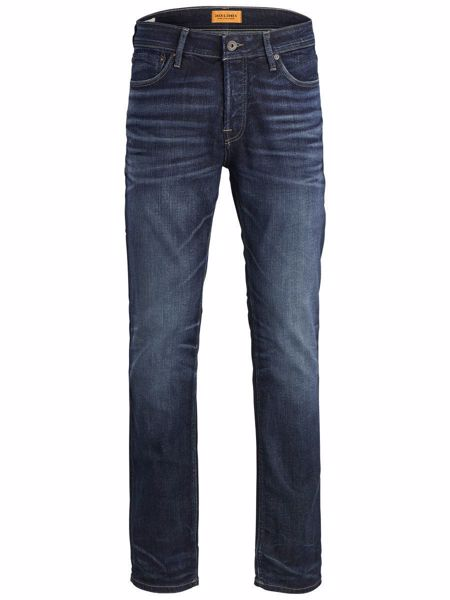 JACK&JONES-TIM ORIGINAL JJ 119 NOOS SLIM FIT JEANS-BLUE-DENIM