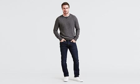 LEVI'S-511 SLIM FIT JEANS-ZEBROID-ADAPT