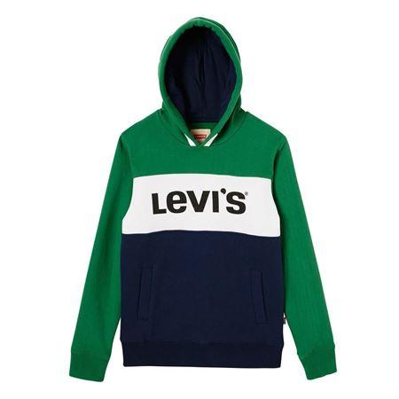 LEVI'S KIDS-SWEAT IMPRIMÉ À CAPUCHE-VERDANT-GREEN