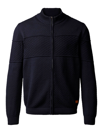 CLIPPER-CARDIGAN WITH ZIPPER