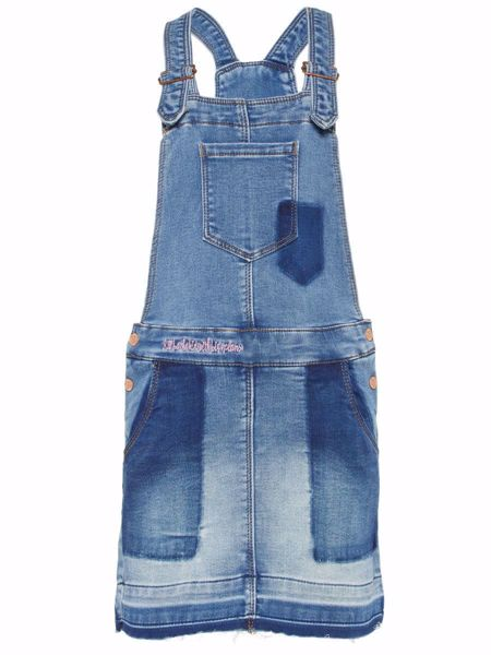 NAME IT-KIDS DONGERI FORKLEKJOLE-MEDIUM-BLUE-DENIM