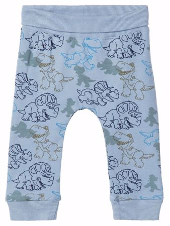 NAME IT-BABY TOY STORY PRINT BUKSER-DUSTY-BLUE