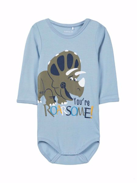 NAME IT-BABY TOY STORY PRINT BODY-DUSTY-BLUE