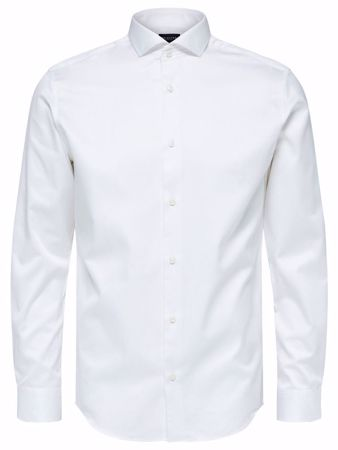 SELECTED HOMME-REGULAR FIT - SKJORTE-BRIGHT-WHITE