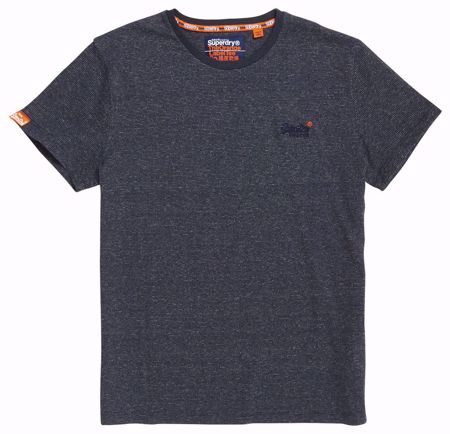 SUPERDRY--NAVY FLECK