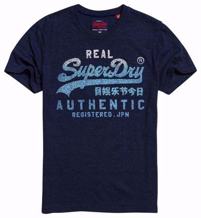 SUPERDRY--PRINCEDOM BLUE MARL