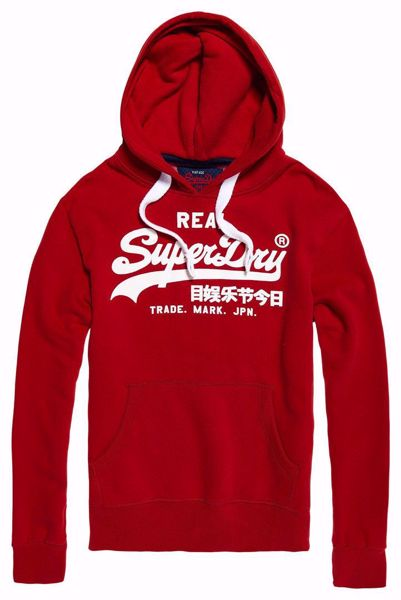 SUPERDRY--PITCH RED