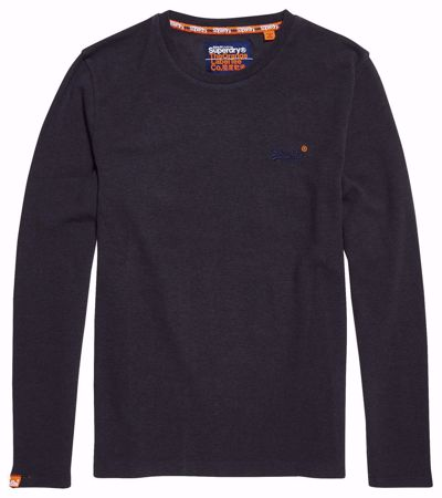 SUPERDRY orange label tynn longsleeve