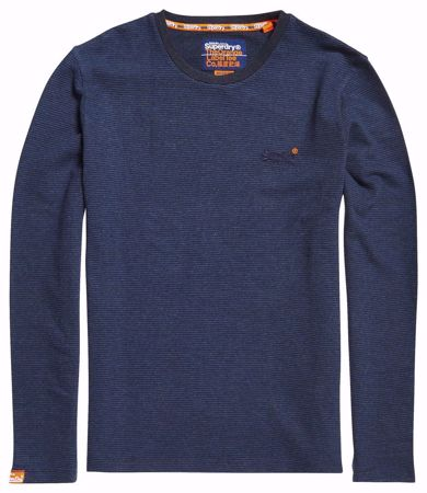 SUPERDRY orange label tynn ls