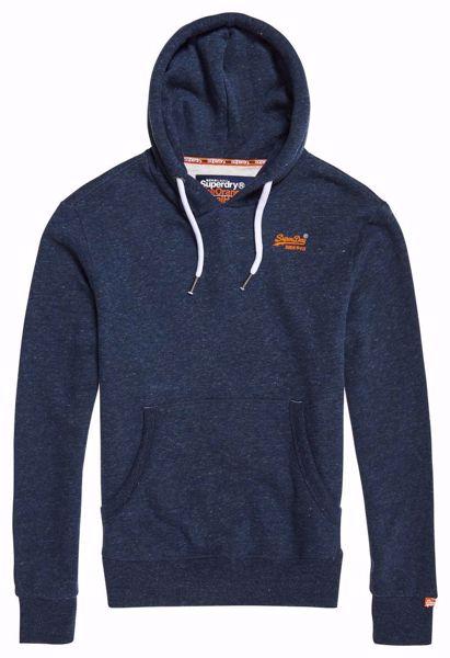 SUPERDRY orange label hood