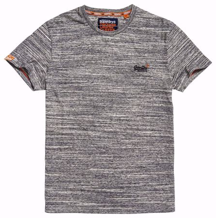 SUPERDRY orange label emb tee