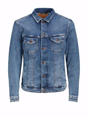 JACK&JONES-REGULAR OLAJAKKE-BLUE-DENIM